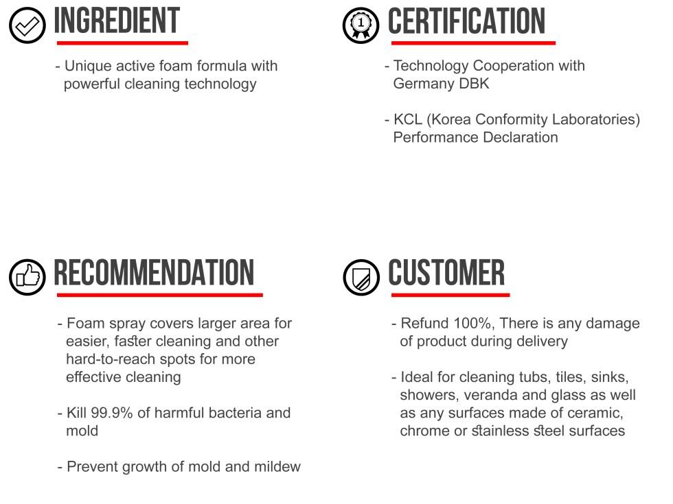 Mr. Zetta bathroom cleaner product info