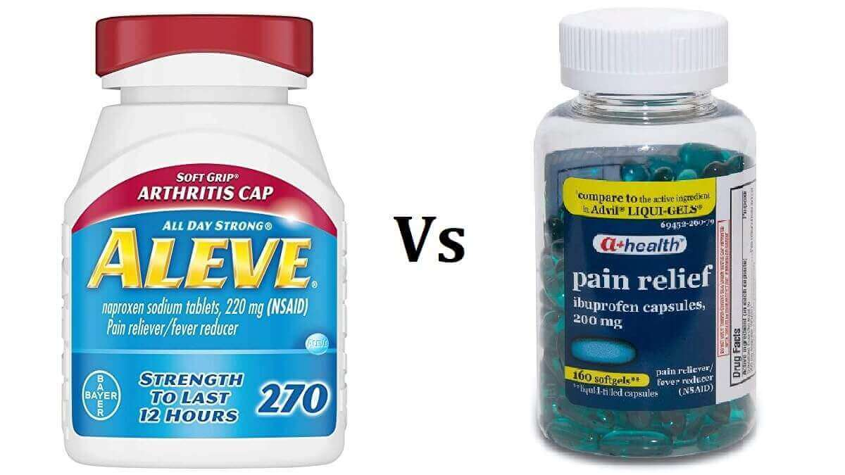 Aleve Vs Ibuprofen: 4 Main Differences That You Should ...
