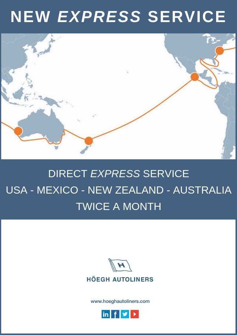 Höegh Autoliners Oceania Service