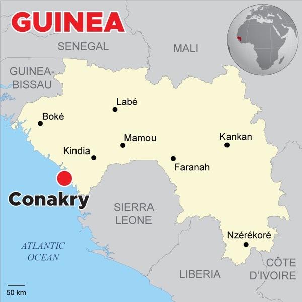 Globetrans Conarky Guinea