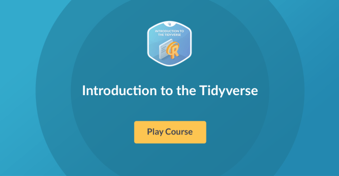 New R Course: Introduction to the Tidyverse!