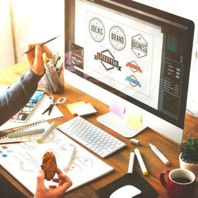 Diseño de logo pack