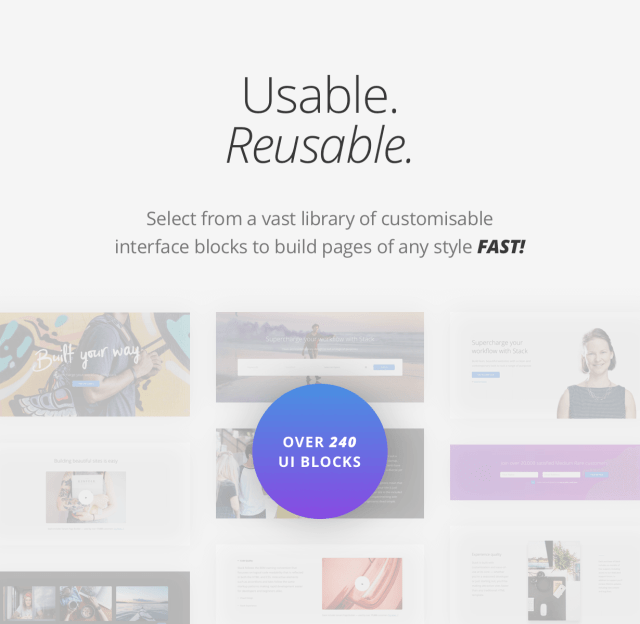 Stack - Multi Purpose HTML with Page Builder - 5