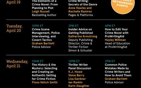 ProWritingAid Presents: Crime Writer's Week