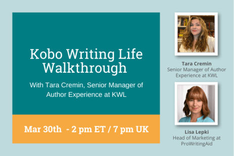 Webinar: Publish Your Book Yourself with Kobo Writing Life
