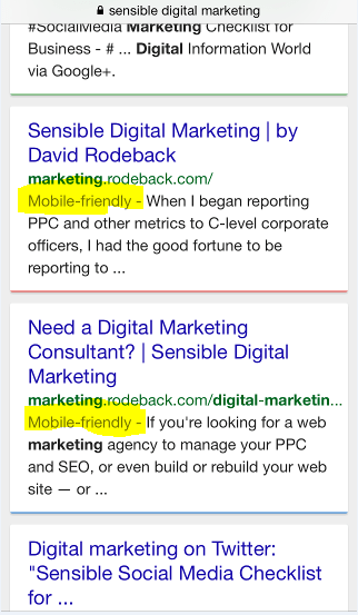 Sensible Digital Marketing