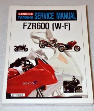 1989 1993 1994 YAMAHA FZR600 FZR 600 R Service Manual | eBay