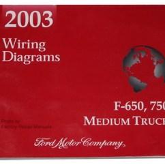 Electrical Wiring Diagram Ford F650 Ka 2003 F 650 750 Medium Duty Truck Diagrams