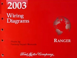 2003 Ford Ranger Electrical Wiring Diagrams