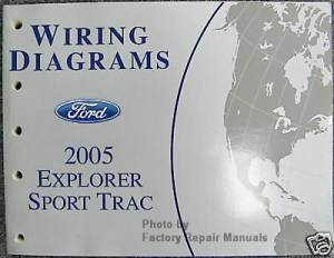 2005 Ford Explorer Sport Trac Electrical Wiring Diagrams