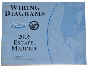 2006 Ford Escape Mercury Mariner Electrical Wiring Diagrams Shop Manual | eBay