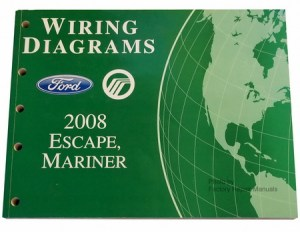 2008 Ford Escape, Mercury Mariner Electrical Wiring