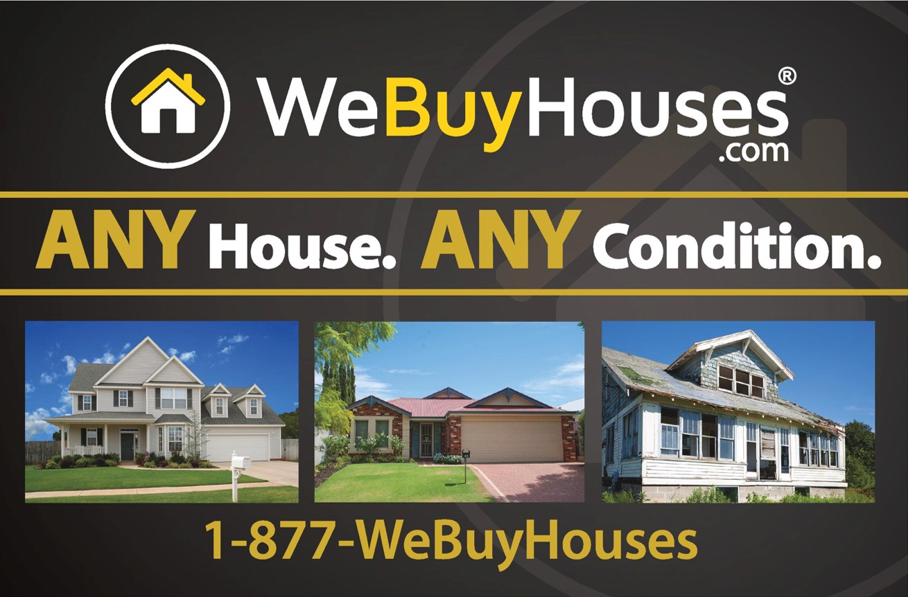 ANY HOUSE Postcard Series We Buy Houses® Marketing Portal