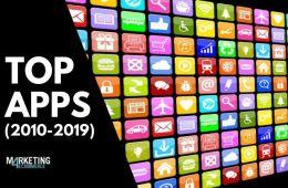 Top 10: las apps más descargadas de la década (2010-2019)