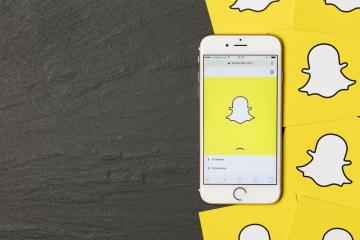 publicidad de Snapchat