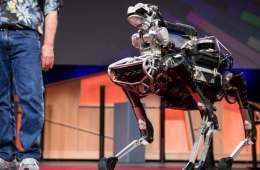 Spot el perro robot de Google
