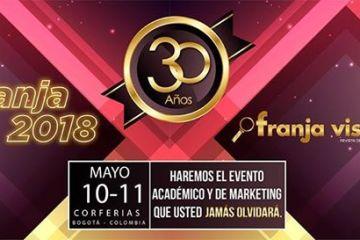 Franja 2018: el mayor evento de marketing en salud visual en Colombia