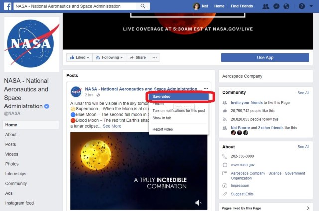 Facebook collection - new - to organize saved posts 1