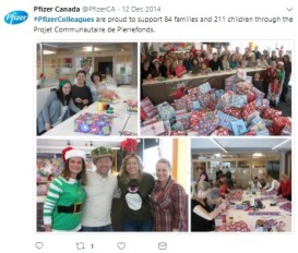 Pfizer Canada Twitter 2
