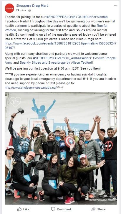 SDM Facebook party - welcome
