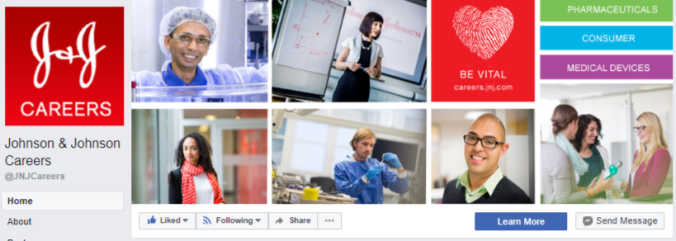 FB cover - J&J careers