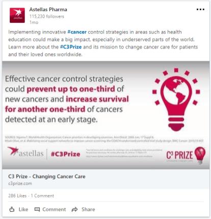 Astellas - Changing Cancer Care - LI post 3