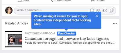 new fact checkers on fb - jan 8 2019