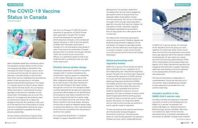 COVID-19 Vaccine article