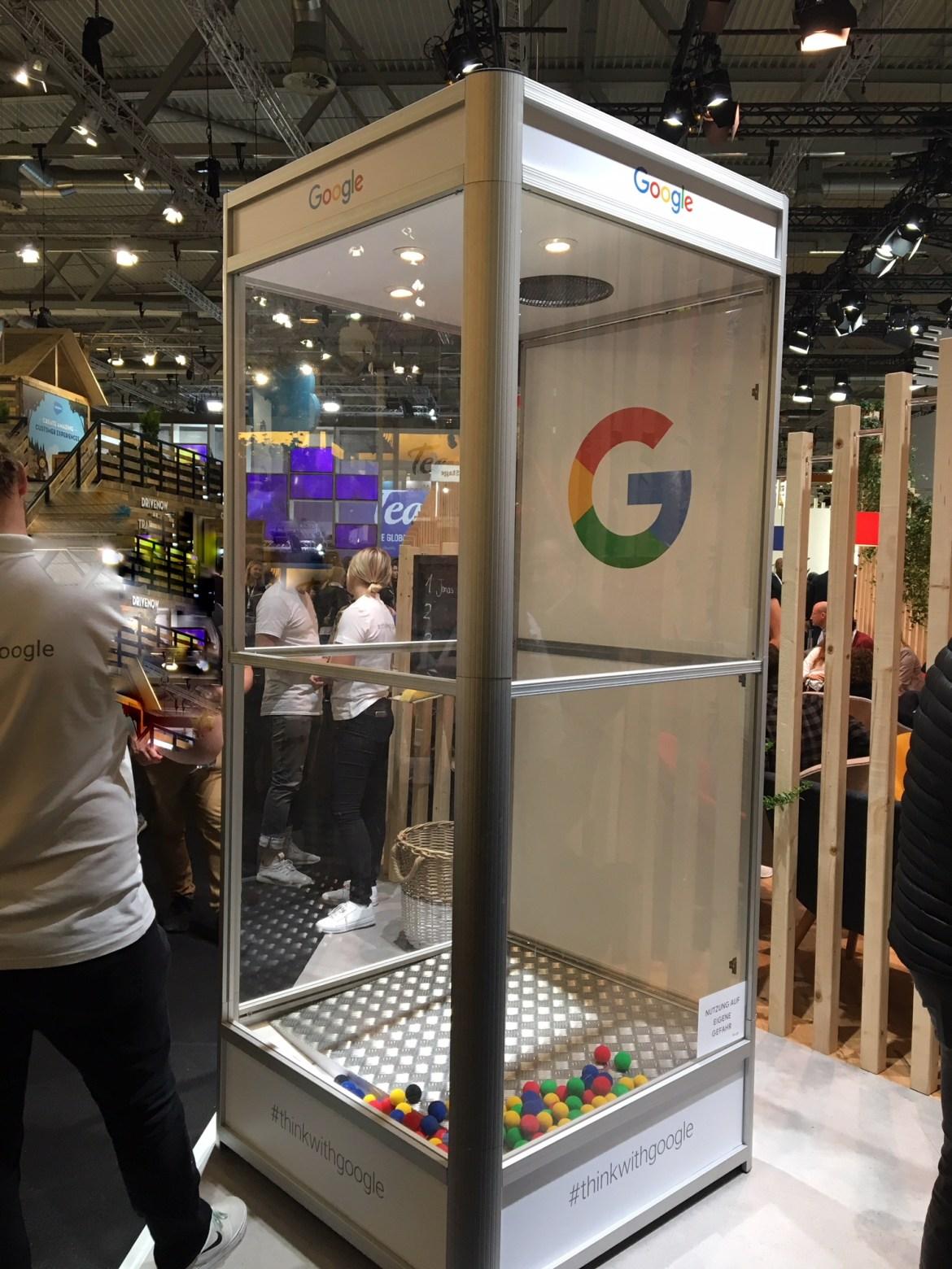 DMEXCO 2018: игра у Google