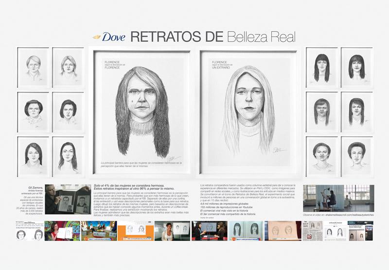 GRAND PRIX Real beauty sketches, de Ogilvy & Mather Brasil para Dove Masterbrand. Brasil