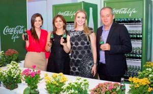 Lanzamiento Coca Cola Life Pierangela Sierra