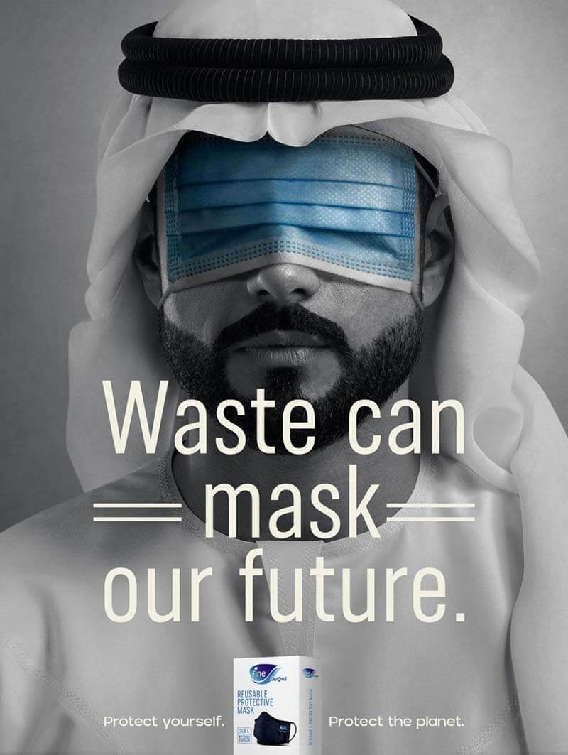 """Chiến dịch """"Waste Can Mask Our Future"""""""