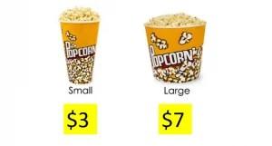 2 barattoli di pop corn