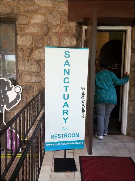 Sanctuary and Restroom 1