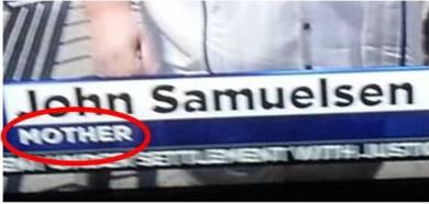samuelson mother blown up