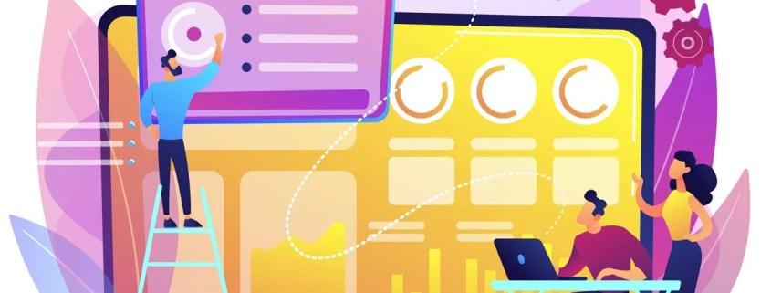 illustration for marketing metrics article