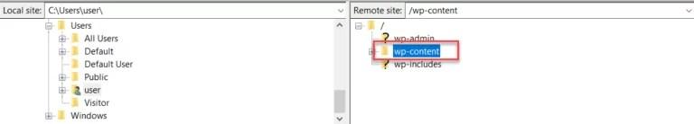 FTP portal