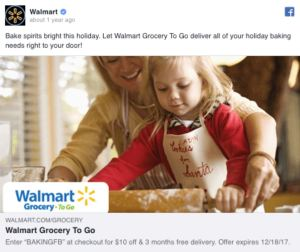 Walmart FB Ad