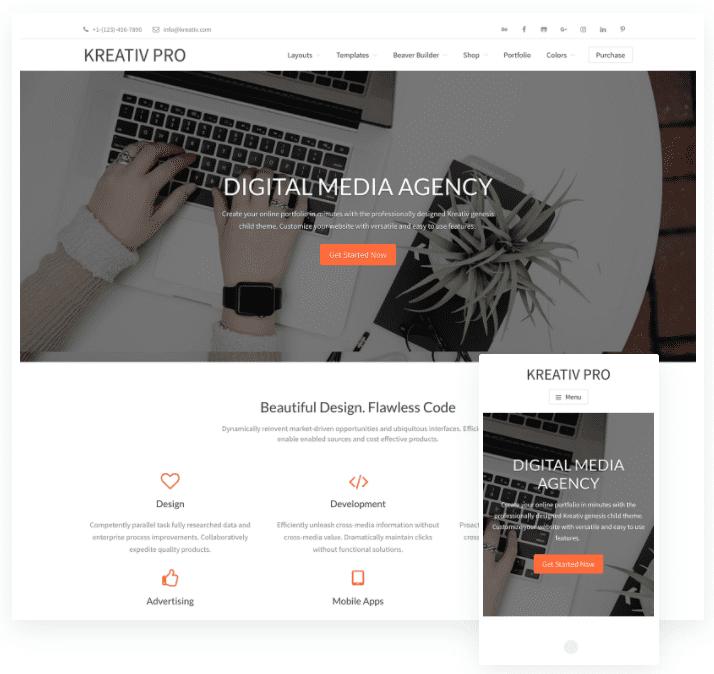 marketing agency wordpress theme