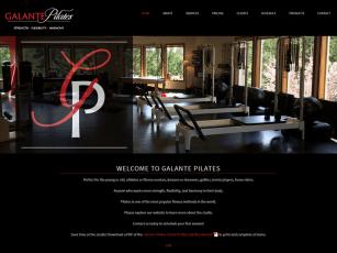 Pilates studio website