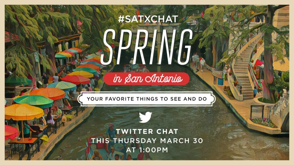 Spring in San Antonio SATXCHAT 1 social image size