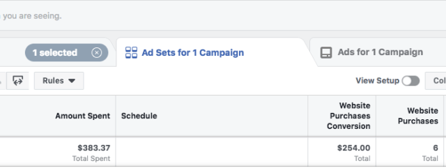 Facebook Outage Advertisers