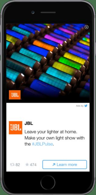 JBL Twitter Audience Platform