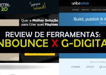 Review Criação de Landing Pages  Unbounce X G-Digital