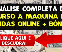 Review do Curso A Maquina de Vendas Online