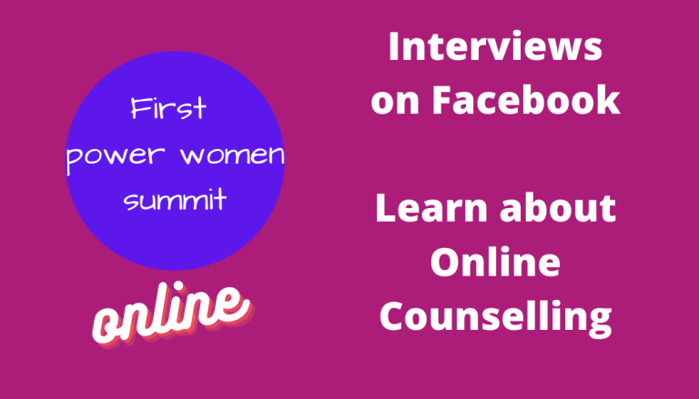First Power Women in online therapy Online Summit October 19 – 23