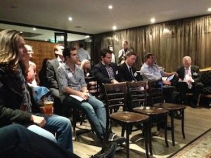 We had people from a range of businesses attend the session, 30  people contributed to the extensive discussion.