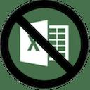 No Excel