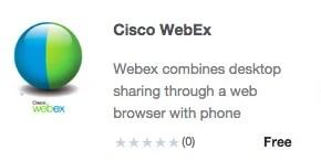 App Store WebEx 293x146pxl
