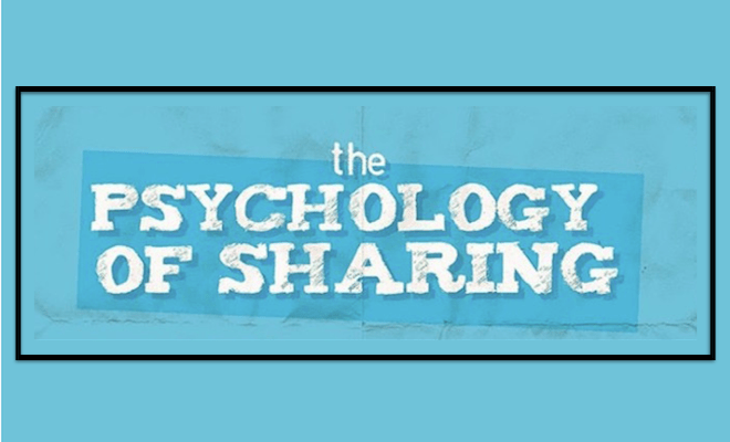 Psychology of Sharing 660x400